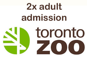 2 tickets for TORONTO ZOO - 15$ each