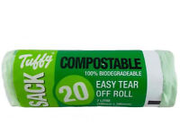 20 Tuffy 00807 Compostable Biodegradeable Caddy (Discount pack of 10)