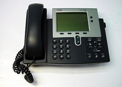 Cisco 7940 Unified Voip Ip Phone Cp-7940g
