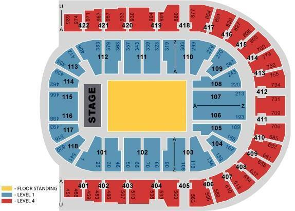 5 seconds of summer level 1 seated tickets o2 arena london for 02 floor seating plan