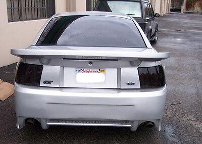 99-04 Ford Mustang Smoked Smoke Tail Lights Black