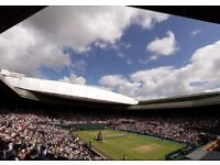 X2 Wimbledon Debenture Tickets. Men's Final Sunday 16th July