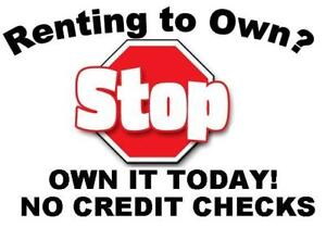 Stop Renting!!!  We finance NEW furniture at a fraction of the price!