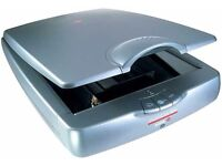 Agfa Snapscan e26 Flatbed Desktop Scanner.