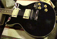 jay turser - blk -gold les paul style