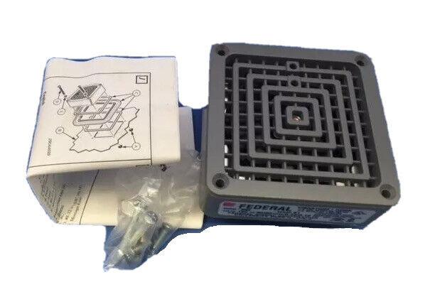 Federal Signal 350-120-30 Vibratone Horn Alarm new