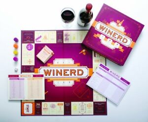 wine markers and Winerd game, new