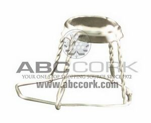 Champagne Wire Hood - Silver Disc 100 pack Kitchener / Waterloo Kitchener Area image 2