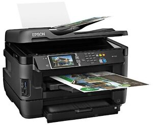 Epson WF7520 wide-format inkjet Printer - lightly used