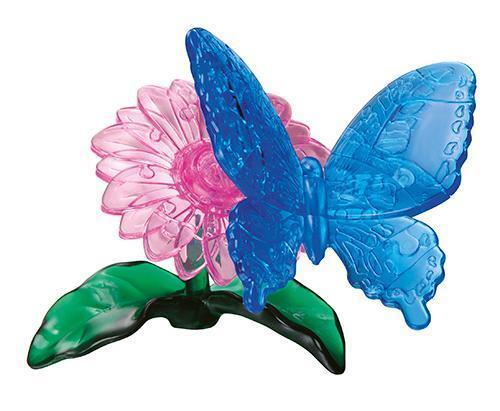 Neu Crystal Puzzle - Schmetterling 3D Puzzles Kristallpuzzle Kristall Puzzle!125