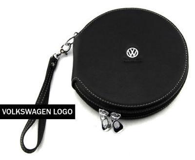 Auto-dvd-halter (Volkswagen Etui PU Leder 20 CD Case Auto DVD Halter Disc Album Storage Organizer)