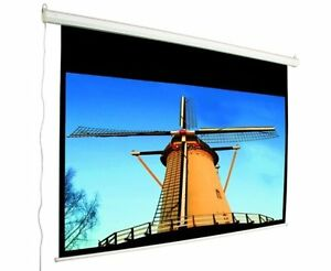 "MUSTANG 92"" 16:9 ELECTRIC PROJECTION SCREEN - BRAND NEW IN BOX!"
