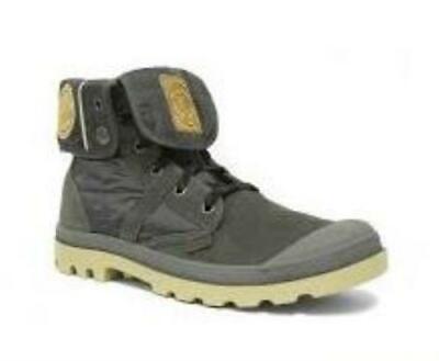 NIB PALLADIUM Pallabrouse Baggy EX Dark Gray/Mojave Desert Women's Suede Boots