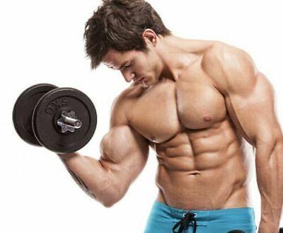 Natural Body Building Pills Muscle Mass Gain Fat Burner MENS SUPPLEMENT 60 Caps