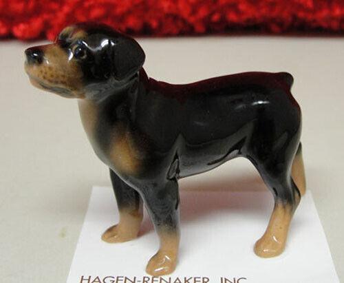 ➸ HAGEN RENAKER Dog Miniature Figurine Rottweiler