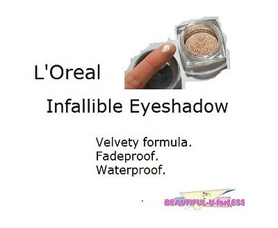 BUY 1, GET 1 AT 20% OFF (add 2 to cart) L'Oreal 24 hr Infallible Eyeshadow