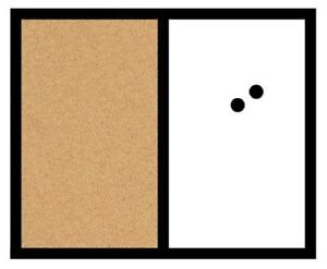 NEW Board Dudes 18-Inch X 22-Inch Magnetic Dry Erase/Cork