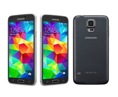 NEW UNLOCKED SAMSUNG GALAXY S5 G900T T-MOBILE 4G LTE 16GB 16MP SMARTPHONE GPS- WHITE