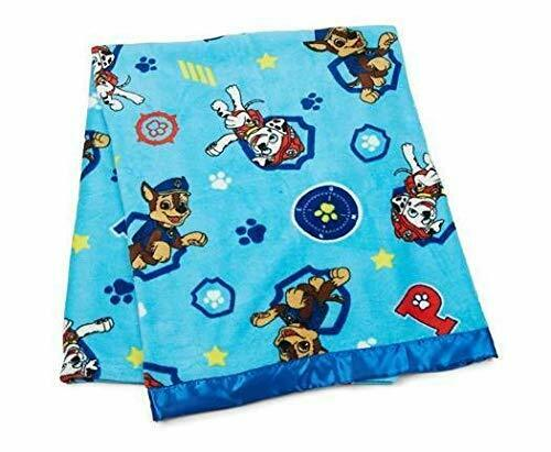 "Paw Patrol Toddler Fleece Throw with Satin Trim, 40"" x 50"""
