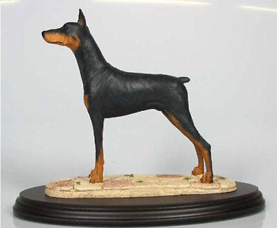 Antike Originale Vor 1945 Figur Dobermann Rasse Bronze Antiquitäten & Kunst
