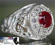 Mens Ruby Ring