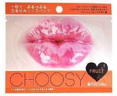 CHOOSY Lip Care Mask/Pure Smile / Fruit / NEW/ Free shipping