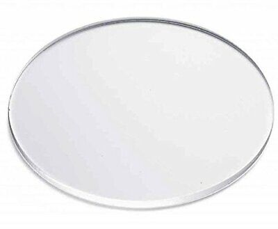 Clear Acrylic Discs 18 Thick 2.5 Diameter Pack Of 5