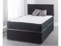 SAME DAY EXPRESS DELIVERY**King Size Divan Bed With Orthopaedic Mattress/Double/Single Bed Available