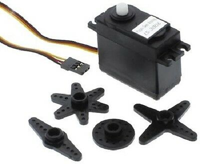 Osepp Ls-3006 Arduino Compatible Ls-3006 Servo - Analog Plastic Gear