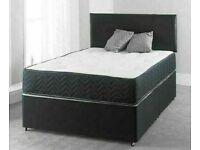 💚💚Made to UK Standard💚💚BRAND NEW SINGLE/DOUBLE DIVAN BED BASE WITH MATTRESS