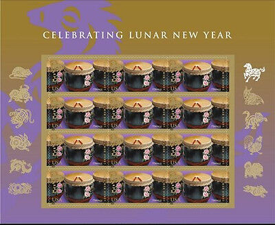 US 4846 CELEBRATING LUNAR NEW YEAR HORSE FOREVER SHEET MNH 2014