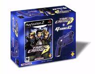 Time Crisis 3 and G Con 2 Gun Bundle (PS2)