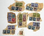 China Stamps Overprint