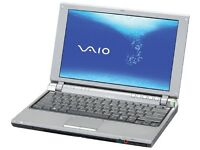 SONY NETBOOK , INTEL DUAL PROCESSOR , 1 GB RAM , 80 GB HDD , WIDNOWS WIFI , CD DVD 10.6 INCHES