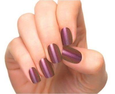 INCOCO Nail Applique Wraps Strips (ENIGMA) 100% Real Nail Polish (Lot of 5)
