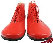 Red Costume Boots