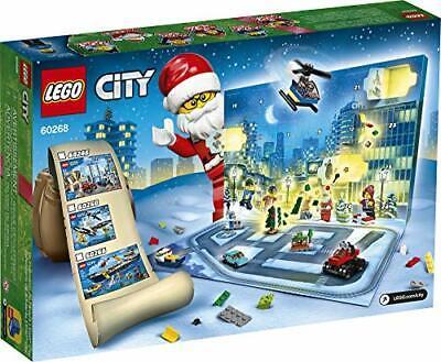 2020 LEGO City Advent Calendar Playset, Includes 6 City Adventures TV Series