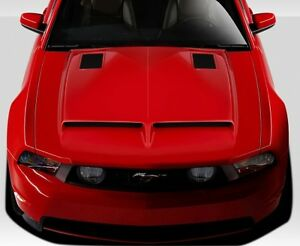 FORD MUSTANG SHELBY GT500 LOOK HOOD 2010 2011 2012