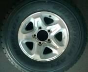 LandCruiser TOYOTA alloy wheel VDJ76/78/79/V8 series + DUNLOP 265 Seven Hills Blacktown Area Preview