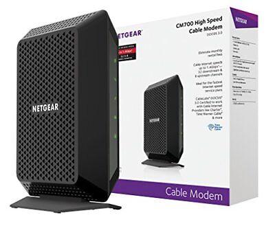 NETGEAR CM700 32x8 Cable Modem DOCSIS 3.0 New!