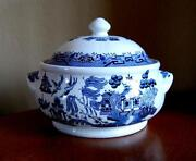 Blue Willow Tureen