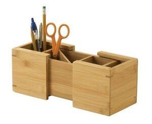 Pen Pencil Holder Desk Organizer Office Mesh Cup Storage
