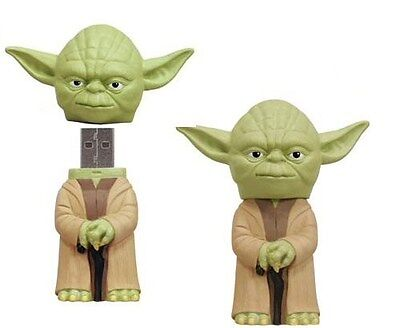 STAR WARS YODA 4GB USB FLASH DRIVE STICK GREAT GIFT BRAND NEW