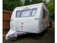 touring caravan 2005 fleetwood/adria 5 berth