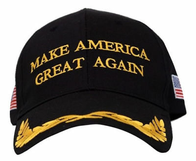 Trump Hat President Make America Great Again MAGA Baseball Cap Hat BLACK Olive