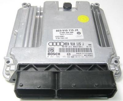 GENUINE AUDI A4 B7 2.0 TFSI BGB ENGINE CONTROL UNIT ECU - 8E0 910 115 JX