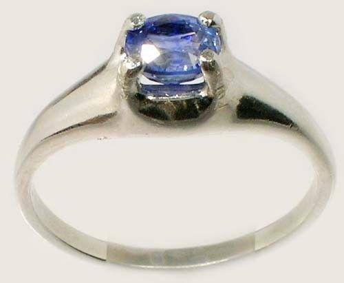 "Blue Sapphire Ring ¾ct+ Antique 19thC Ancient Persian Medicinal ""Gem of Heaven"""