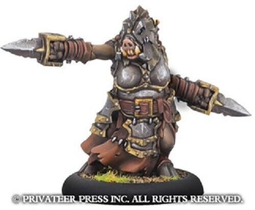 Warmachine Minions Agata Queen of Carnage Company of Iron  Privateer Press