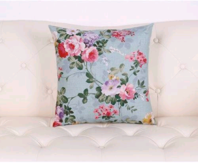 4 x Shabby Chic Floral Cushion Covers New