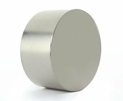 Rare Earth Neodymium Magnet Strong Magnetic Fastener 40mm Diameter X 20mm Thick